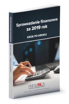 Sprawozdanie finansowe za 2019 rok