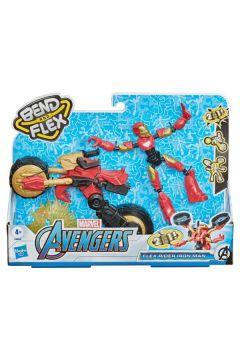 Avengers Bend and Flex, Flex Rider Iron Man i motocykl 2w1 F0244 HASBRO