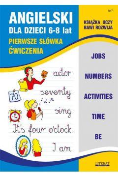 Angielski dla dzieci 6-8 lat Zeszyt 7