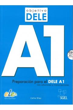 Objetivo DELE A1 książka + CD OOP