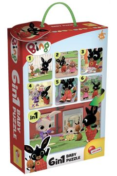 Bing. Baby puzzle 6 w 1