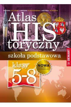 Atlas historyczny. Szkoła podstawowa 5-8.
