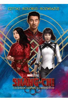 Czytaj, koloruj, rozwiązuj. Marvel Studios. Shang-Chi i legenda dziesięciu pierścieni