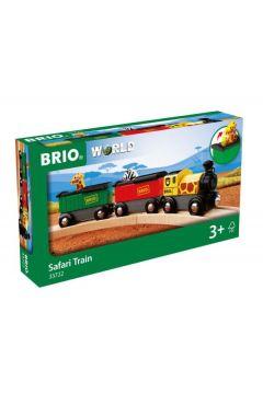 BRIO 33722 Pociąg Safari