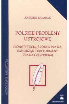 Polskie problemy ustrojowe
