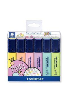 Zakreślacz Classic Colors 6 kolorów STAEDTLER