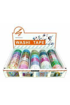 Taśma ozdobna mini washi tape narcissus