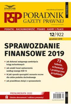 Sprawozdanie finansowe 2019