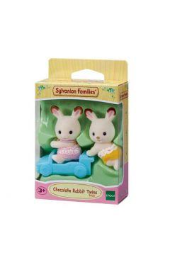 SYLVANIAN Bliźniaki królików z czekoladowymi uszkami 05420