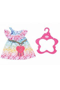 Baby born - Tęczowa sukienka 43cm