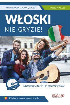Włoski nie gryzie! A1-A2 Książka + CD