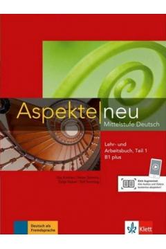 Aspekte Neu B1+ LB + AB Teil 1 + CD + online