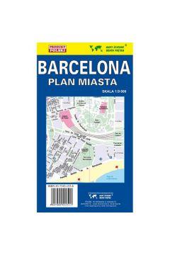 Barcelona plan miasta 1:9000