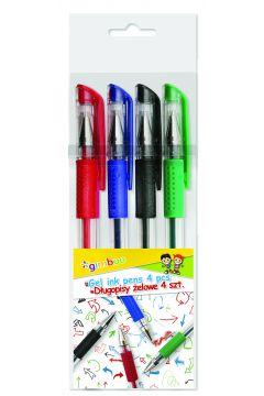 Długopis żelowy gimboo classic 0,5mm 4 kolory