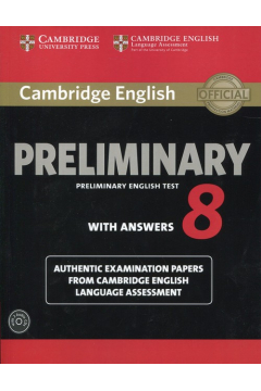 Cambridge English Preliminary 8 Student's Book with Answers and Audio 2CD