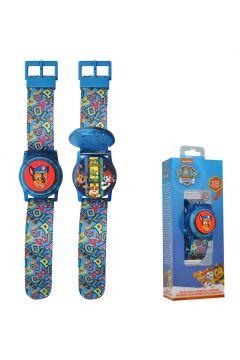 Zegarek cyfrowy z osłoną tarczy + światła Psi Patrol PW16678