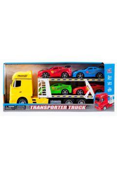 Auto ciężarowe laweta  z akcesoriami MEGA CREATIVE 459500