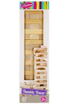 Gra wieża drewniana