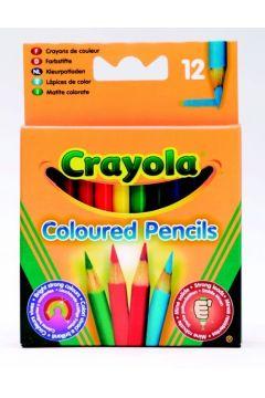 Kredki ołówkowe mini 12 kolorów CRAYOLA