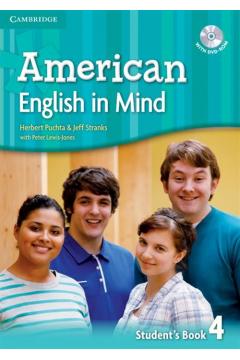 American English in Mind 4. Student`s Book. Podręcznik + DVD-ROM