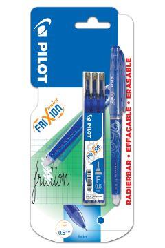 Cienkopis FriXion Point niebieski + wkłady PILOT