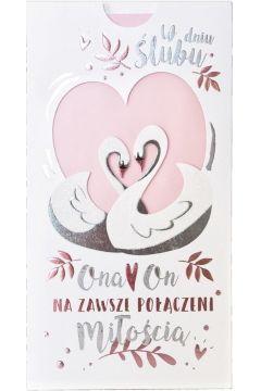 Karnet PM-154 Ślub