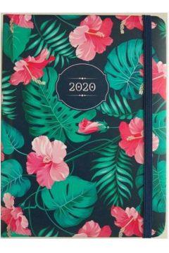 Kalendarz dzienny B6 2020 Hibiskus ALBI