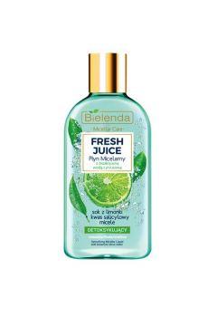 Fresh Juice płyn micelarny detoksykujący z wodą cytrusową Limonka