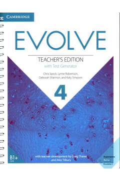 Evolve 4 Teacher's Edition with Test Generator