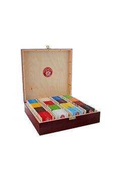 Zestaw 16x10szt Herbata w pudełku mix smaków (160 saszetek)