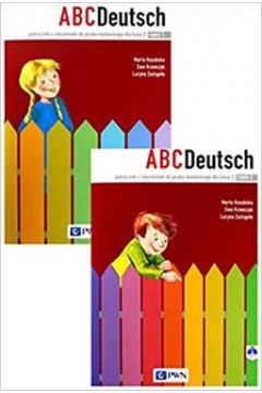 ABCDeutsch. Klasa 3. Podręcznik z ćwiczeniami do języka niemieckiego. Część 1 i 2