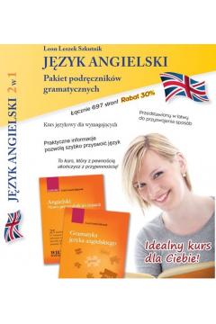 Język angielski 2w1 Pakiet III podręczników gramatycznych