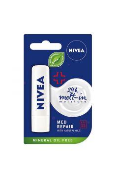 24H Mett-In Moisture Med Repair pielęgnująca pomadka do ust