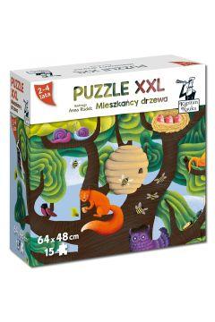 Puzzle XXL Mieszkańcy drzewa EDGARD