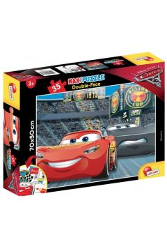 Puzzle dwustronne maxi 35 Auta 3 GO! GO! GO!