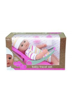 Lalka bobas. Baby Travel Set 30cm