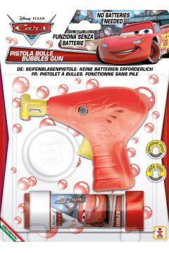 Pistolet do robienia baniek mydlanych Cars