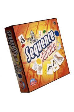 Gra strategiczna SEQUENCE dla dzieci 42 karty