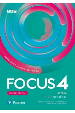 Focus Second Edition 4. Student's Book + kod (Digital Resources + Interactive eBook)