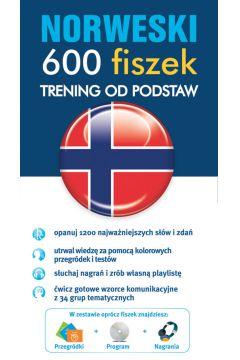 Norweski - 600 fiszek Trening od podstaw  EDGARD