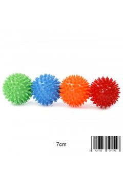 Piłka do masażu 7 cm z kolcami MIDEX 1231H