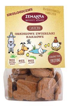 Ciastka orkiszowe o smaku kakaowym zwierzaki