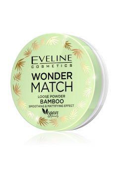Puder sypki bambusowy wygładzająco-matujący Wonder Match