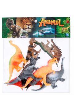 Dinozaury figurki op.8 szt. MEGA CREATIVE 460484