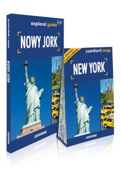 Nowy Jork light przewodnik + mapa