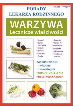 Porady lek. rodzinnego. Warzywa Lecznicze...nr92