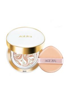 AGE 20'S_Signature Essence Cover Pact Long Stay kompakt do makijażu 23 Medium Beige 2x14g