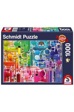 Puzzle 1000 el. Wszystkie kolory tęczy