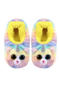 TY Fashion Heather - Pantofle Kot z rogiem