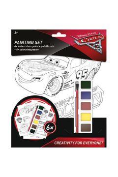 Cars 3 Zestaw do malowania